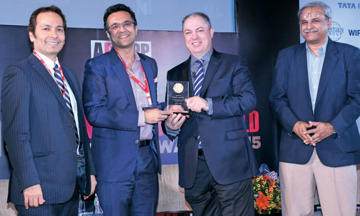 India's Top Challengers 2014-15 at 13th Construction World Annual Awards